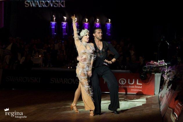 Pavel Zvychaynyy - Angelique Meyer 2015 - World Masters Latin Innsbruck 2015 - Platz 5 - Foto: (c) Regina Courtier