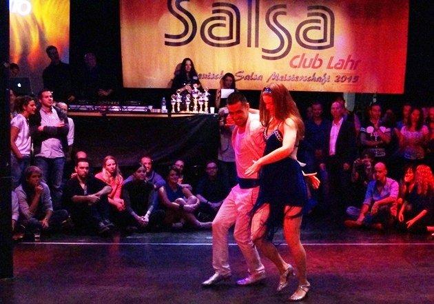 Ruben Bravo - Sophie Buss zur Süd-Deutschen Salsa-Meisterschaft 2015 - 3 -Foto: (c) Salsango - Karsten Heimberger