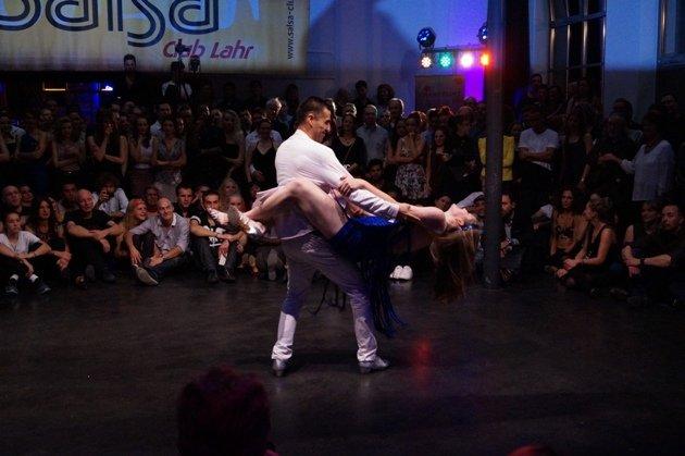 Ruben Bravo - Sophie Buss zur Süd-Deutschen Salsa-Meisterschaft 2015 - 5 -Foto: (c) Salsango Karsten Heimberger