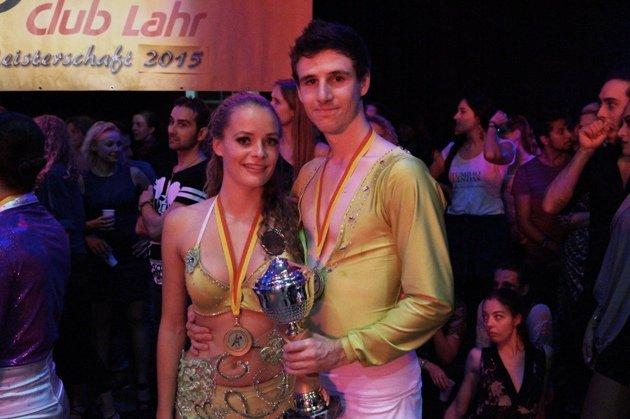 Samuel Kramer - Lisa Vogler - Süd-Deutsche Salsa-Meisterschaft 2015 - Foto: (c) Karsten Heimberger - Salsango