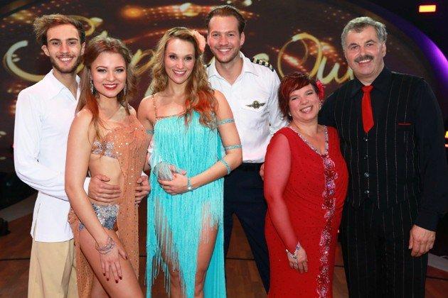Stepping Out Finale 2015 - Paare Joelina Drews und marc aurel Zeeb, Anna Hofbauer und marvin Albrecht, Anja und Bruno Rauh - Foto: (c) RTL - Stefan Gregorowius