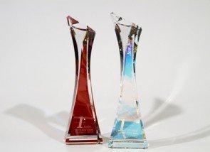 Tanzsport WDSF Grand Slam - Swarovski Pokale für die Turnier-Sieger - Foto: (c) Swarovski