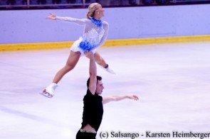Aljona Savchenko - Bruno Massot - Medaillen-Hoffnung aus Deutschland zur Eiskusntlauf-EM 2016
