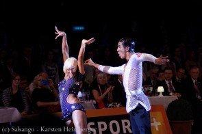Gabriele Goffredo – Anna Matus - WSDF Latein-Weltmeister 2015 - Foto:(c) Salsango - Karsten Heimberger