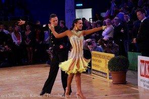 Marius-Andrei Balan - Khrystyna Moshenska Latein WM 2015 erste Runde - Foto: (c) Salsango - Karsten Heimberger