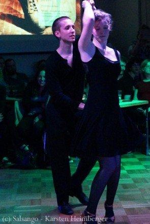 Markus Schmidt - Sarah Laube Platz 5 Ost-Deutsche Salsa-Meisterschaft 2015 - Foto: (c) Salsango - Karsten Heimberger