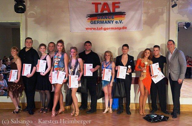 Ost-Deutsche Salsa-Meisterschaft 2015 Finale - Siegerehrung - Foto: (c) Salsango - Karsten Heimberger