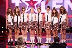 Supertalent 14.11.2015 - Kandidaten Elaine Walker Academy of Irish Dance - Foto: (c) RTL- Frank Hempel