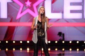 Supertalent 7.11.2015 Kandidatin Nadine Fischer - Foto: (c) RTL - Frank Hempel
