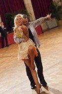 Vadim Garbuzov - Kathrin Menzinger zu den AOC 2015 Wien - Bald auch Weltemister in der Standard-Kür? - Foto: (c) Regina Courtier