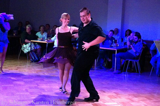 Viktor Oldenburg - Simone Großmann Platz 6 Ost-Deutsche Salsa-Meisterschaft 2015 - Foto. (c) Salsango - Karsten Heimberger