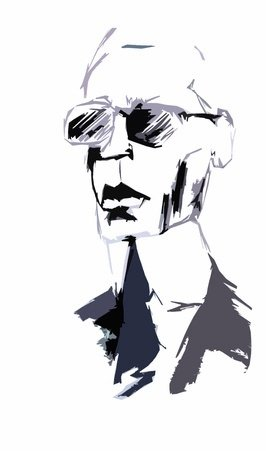 Karl Lagerfeld Illustration - Grafik: © punoo - fotolia.com
