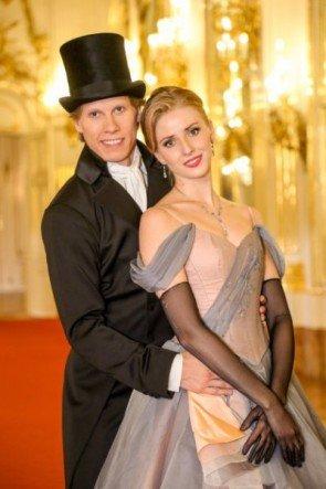 Kirill Kourlaev - Olga Esina vom Wiener Staatsballett zum Neujahrskonzert 2016 - Foto: (c) ORF - Günther Pichlkostner