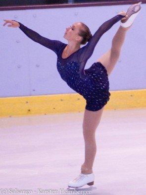 Ergebnisse Eiskunstlauf-WM 2016 - hier Nathalie Weinzierl, startet für Deutschland bei der WM