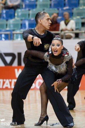 Tanzpaar Duet Perm-WM 2015 Latein-Formationen Platz 2