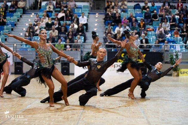 Tanzpaare Vera Tyumen zur WM 2015 Latein-Formationen