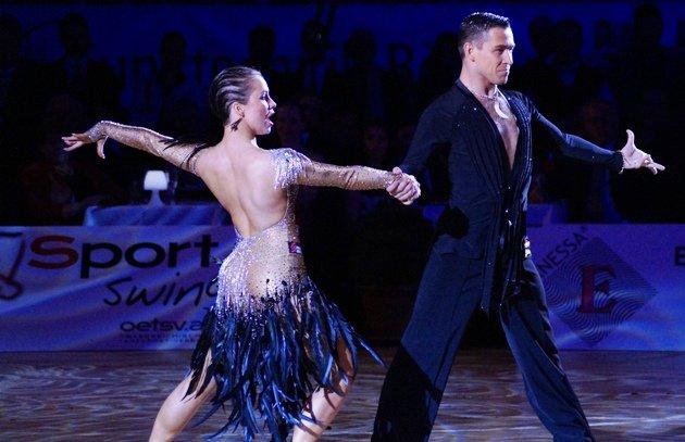 Timur Imametdinov - Nina Bezzubova Platz 3 Grand Slam finale 2015 Shanghai - Foto: (c) Salsango - Karsten Heimberger