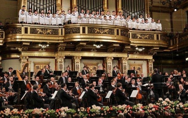 Wiener Sängerknaben und Wiener Philharmoniker zum Neujahrskonzert 2016