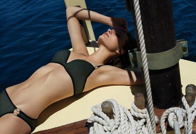 Bikini Sommermode 2016 Kate Kaki von Andres Sarda