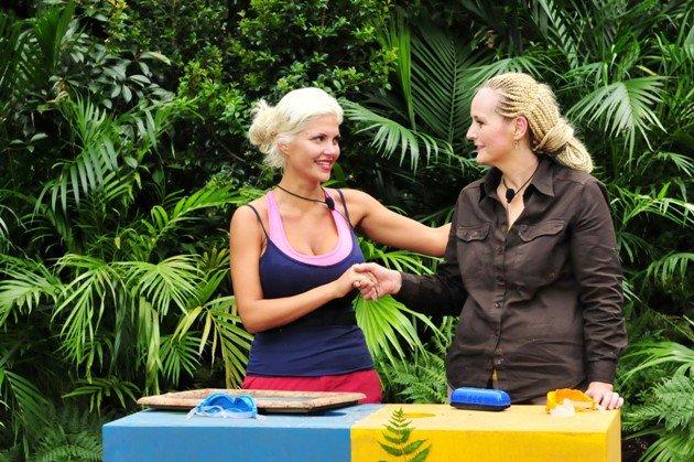 Dschungelprüfung am 16.1.2016 - Sophia Wollersheim und Helena Fürst