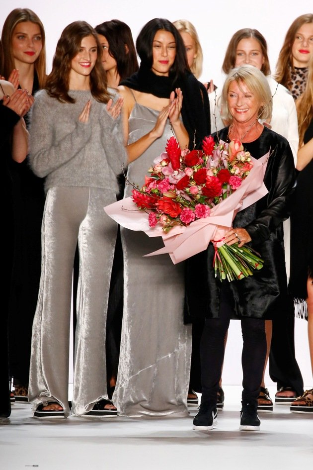 Elisabeth Schwaiger von Laurel zur Mercedes-Benz Fashion Week Januar 2016