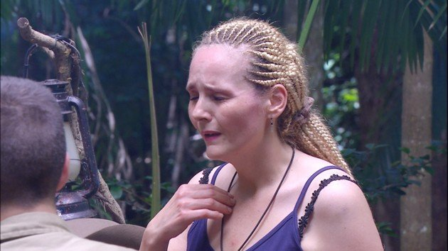 IBES 20.1.2016 - Helena Fürst verweigert Dschungelprüfung