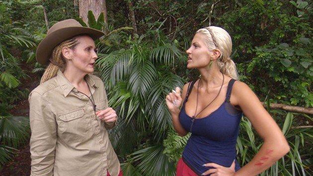 IBES 2016 Helena Fürst und Sophia Wollersheim Tag 14 im Dschungelcamp