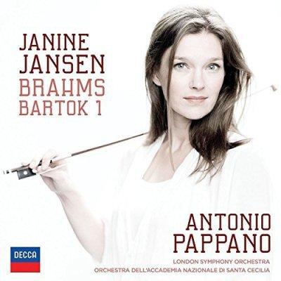 Janine Jansen - Neue Klassik-CD Brahms und Bartok