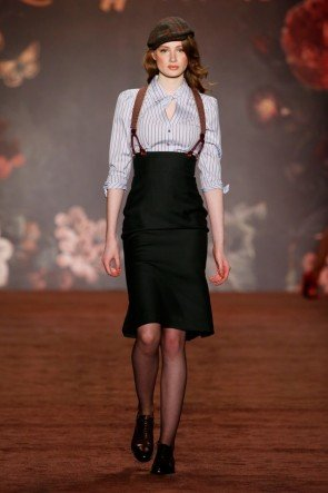 Lena Hoschek Rock Herbst-Winter-Mode 2016-2017 Berlin Fashion Week Januar 2016 - 23
