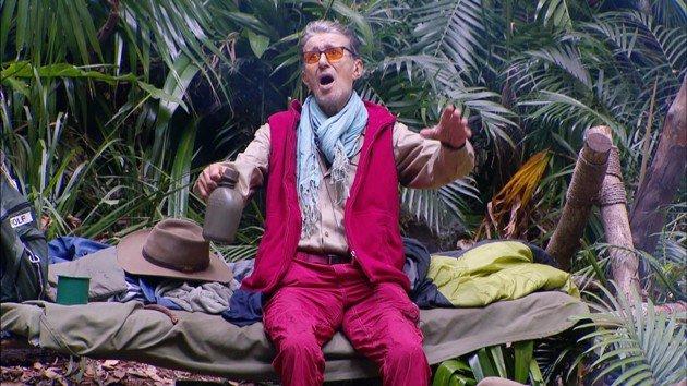 Rolf Zacher verlässt am 22.1.2016 das Dschungelcamp