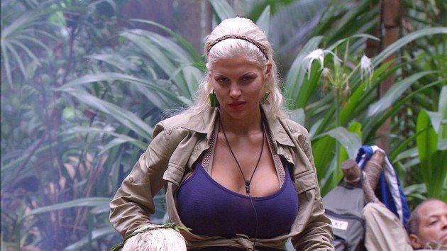 Sophia Wollerheim am 17.1.2016 im Dschungelcamp