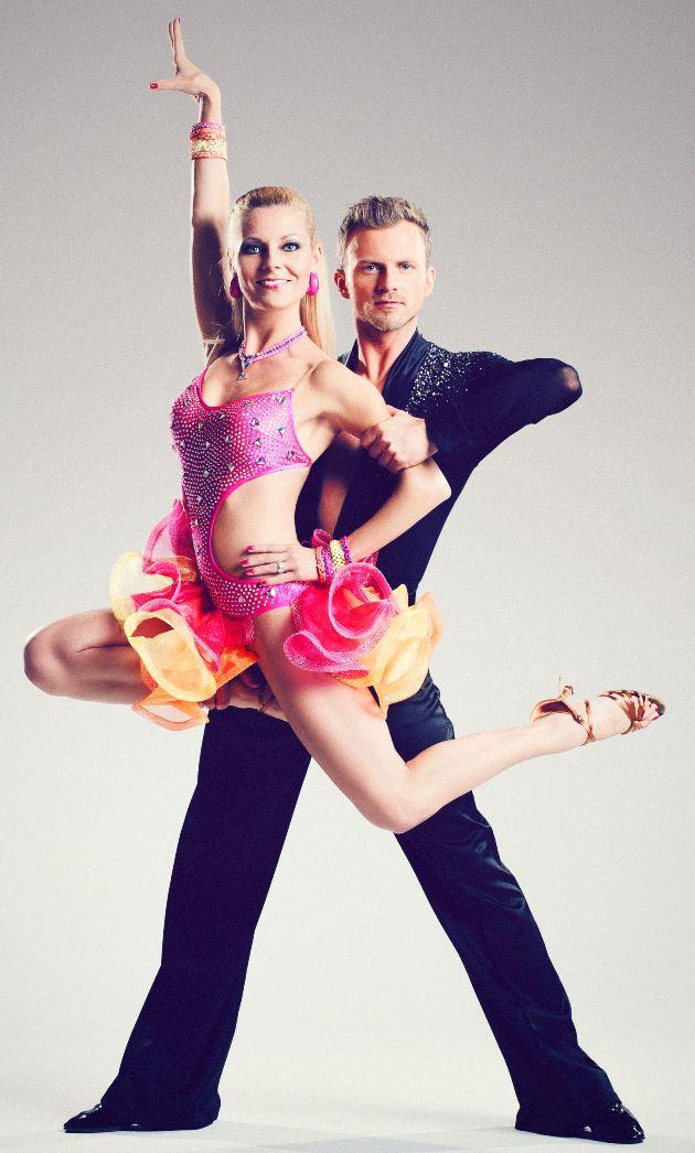 Willi Gabalier und seine Frau und Tanzpartnerin Christiana