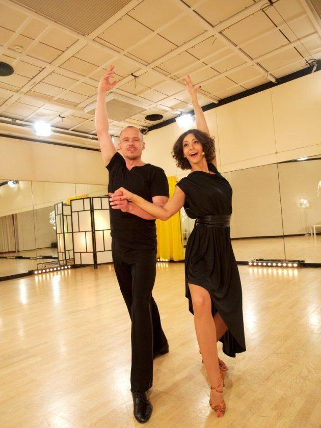 Alexandra Scheriau - Gery Keszler - Dancing Stars 2016 erste Proben - 1
