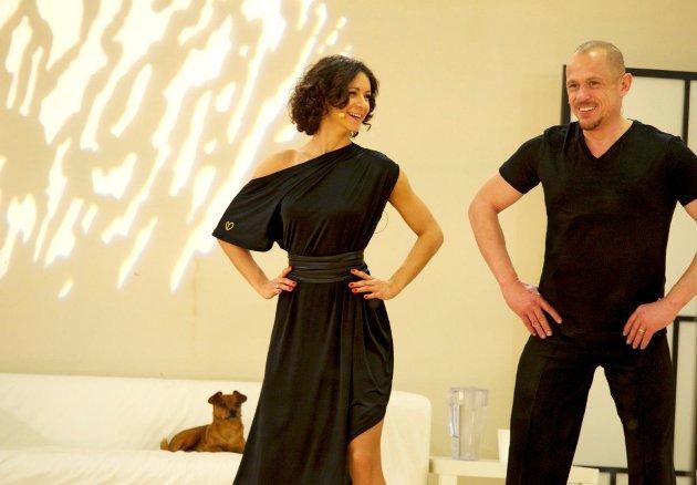Alexandra Scheriau - Gery Keszler - Dancing Stars 2016 erste Proben - 2