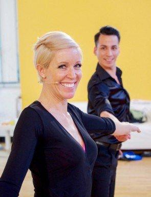 Andy Pohl - Heidi Neururer - Dancing Stars 2016 erste Proben - 2