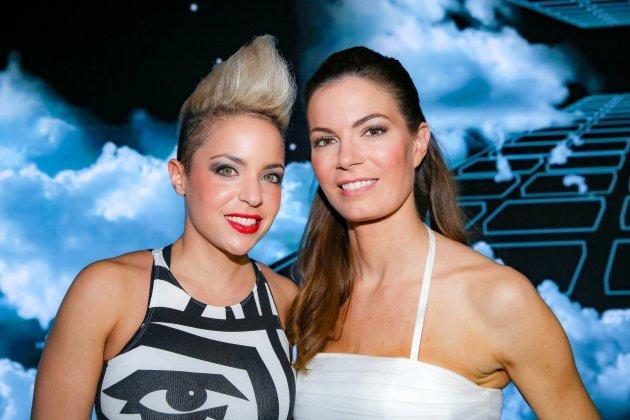 Celine Roscheck und Farina Miss ESC Vorentscheid ORF 12.2.2016