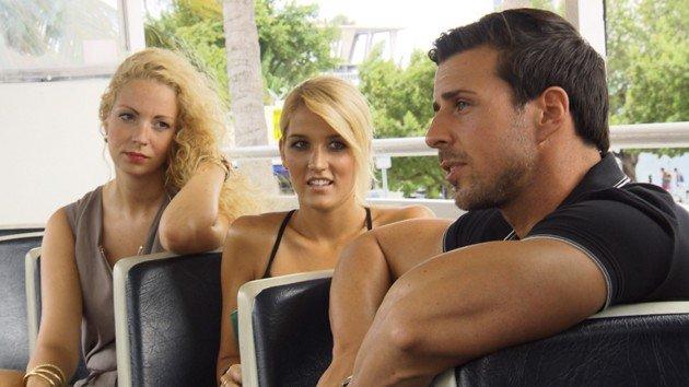 Cindy, Steffi und Leonard Bachelor am 10.2.2016