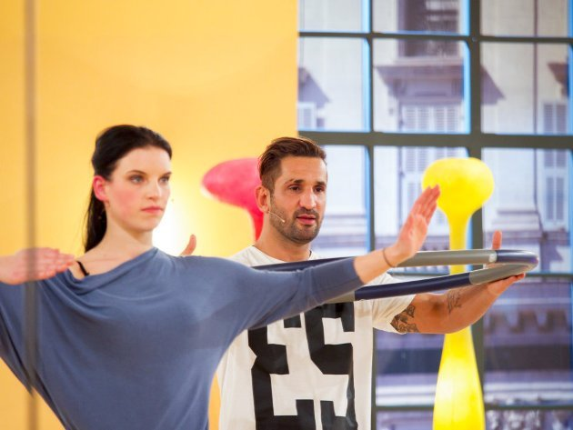 Conny Kreuter - Fadi Merza - Dancing Stars 2016 erste Proben - 6