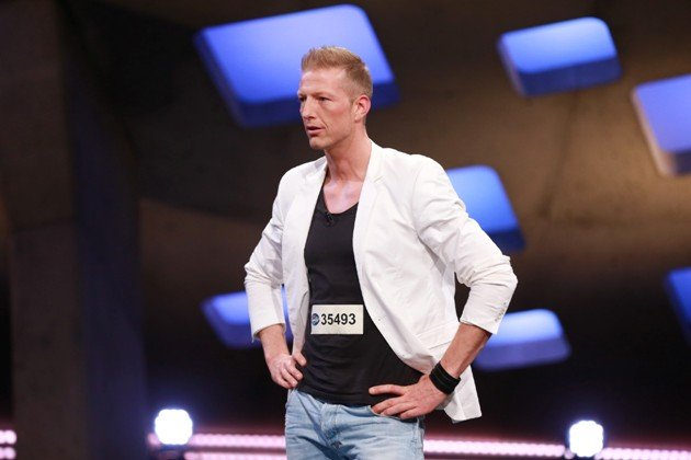 Dray Parker Kandidat DSDS 13.2.2016