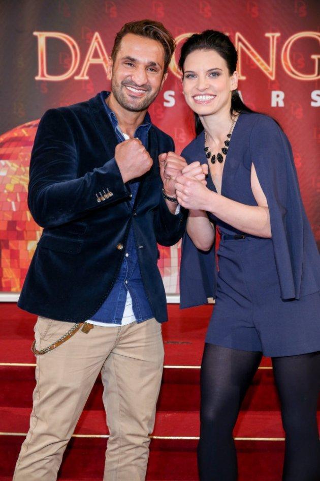 Fadi Merza - Conny Kreuter als Tanzpaar bei den Dancing Stars 2016