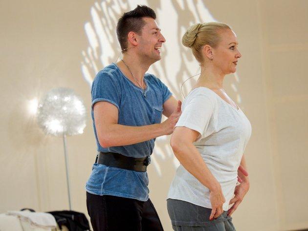 Florian Gschaider - Verena Scheitz - Dancing Stars 2016 erste Proben - 4