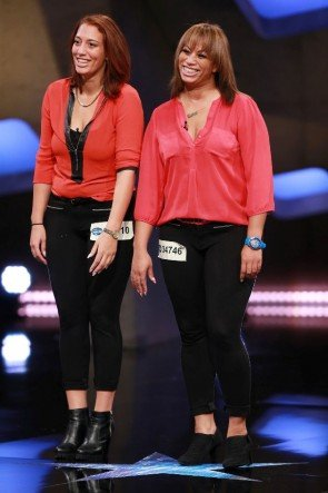 Jaqueline-Julia Cuenca Lopez und Tanika Cuenca Lopez - Kandidatinnen DSDS 27.2.2016