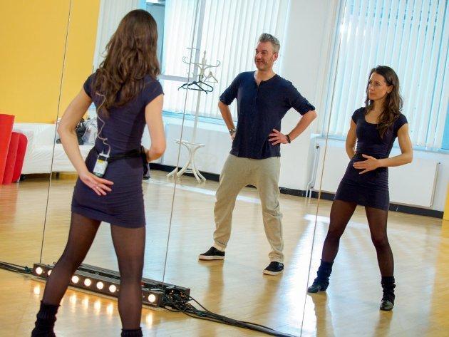 Lenka Pohoralek - Thomas May - Dancing Stars 2016 erste Proben - 1