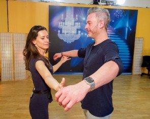 Lenka Pohoralek - Thomas May - Dancing Stars 2016 erste Proben - 3