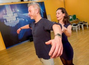 Lenka Pohoralek - Thomas May - Dancing Stars 2016 erste Proben - 4