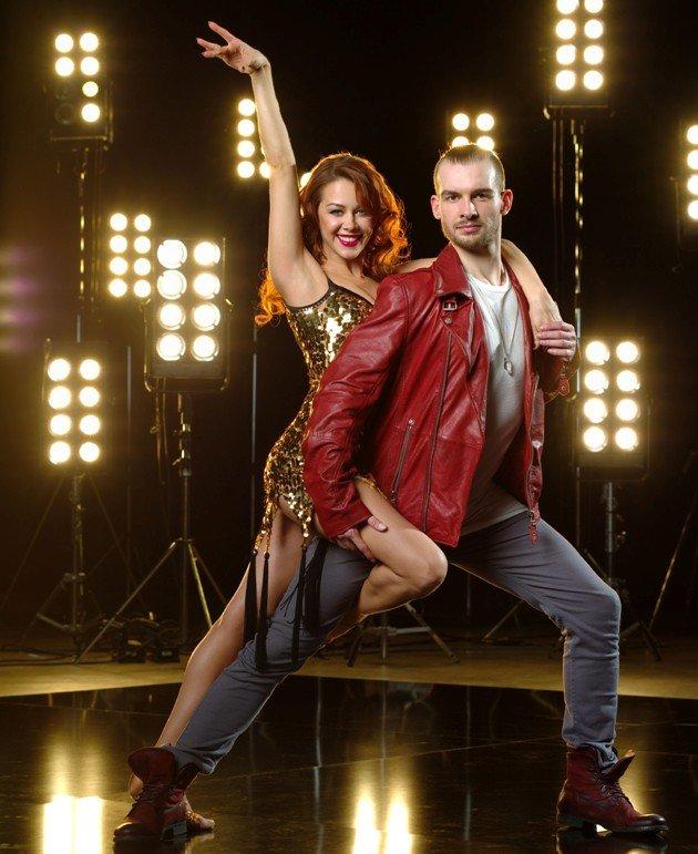 Let's dance Tanzpaar 2016 Oana Nechiti - Eric Stehfest