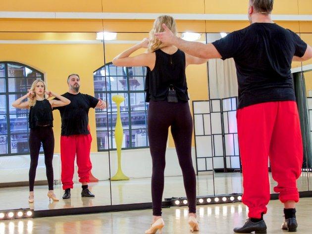 Maria Santner - Georgij Makazaria - Dancing Stars 2016 erste Proben - 2