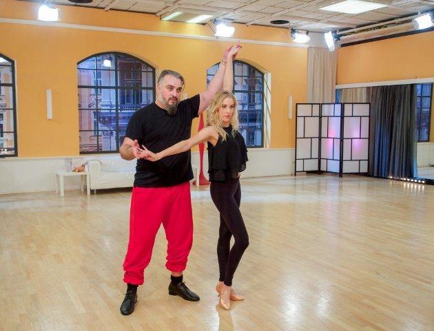 Maria Santner - Georgij Makazaria - Dancing Stars 2016 erste Proben - 5