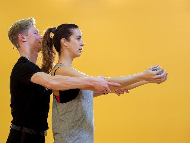 Paul Lorenz - Nina Hartmann - Dancing Stars 2016 erste Proben - 4