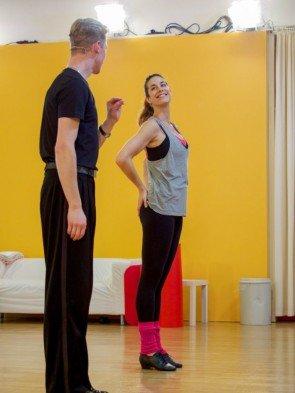 Paul Lorenz - Nina Hartmann - Dancing Stars 2016 erste Proben - 5